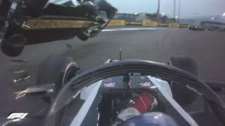 Hulkenberg crash
