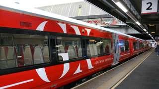 New Gatwick Express train