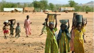 Réfugiés soudanais au Tchad
