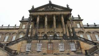 Entrance to Wentworth Woodhouse