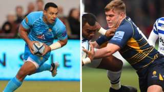 Worcester centre Ben Te'o and hooker Jack Singleton are both in England's Six Nations squad