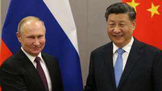 Vladimir Putin na Xi Jingping