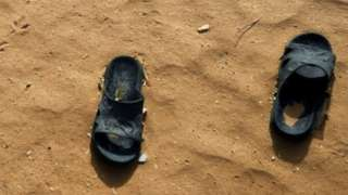 Sandals in the sand, 2018 file picture