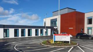 The newly opened Same-Day Emergency Care Unit at Whitehaven's West Cumberland Hospital