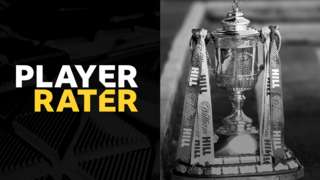 Scottish Cup player rater