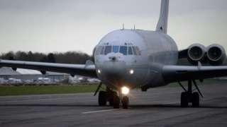 VC10 aeroplane
