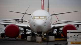 Boeing 737 Max dhaabbatee jiru