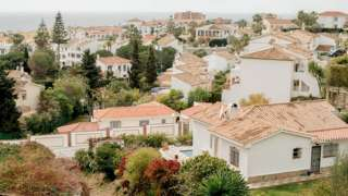 Villas in Mijas, Costa del Sol - file pic