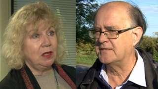 Councillors Liz Brighhouse (Labour) and Richard Webber (Lib Dems)