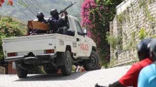 полиция в гаити