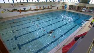 Andover's swimming pool