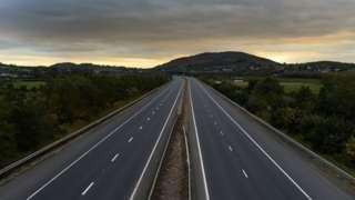 Image of the Belfast to Dublin motorway