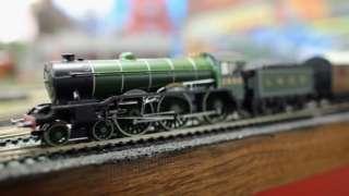 Scalextric train