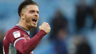 Aston Villa midfielder Jack Grealish