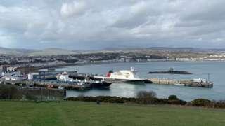 Douglas outer harbour