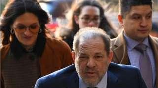 Harvey Weinstein arrives in court - 18 February
