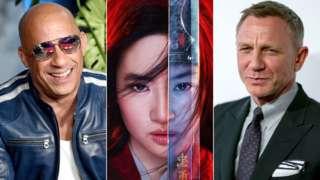 Vin Diesel, Mulan, Daniel Craig