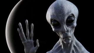 Alien says Hi
