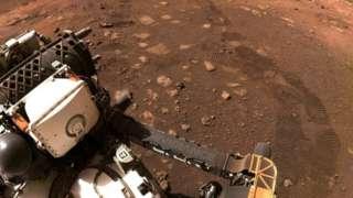 Perseverance en Marte.