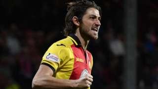 Partick Thistle midfielder Adam Barton