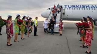 Туркия самолёти