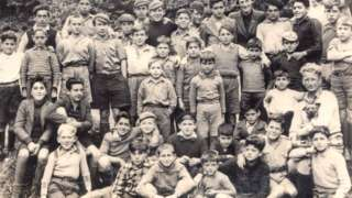Group of Spanish Civil War evacuees who were based in Hoxne in Suffolk and Rollesby in Norfolk