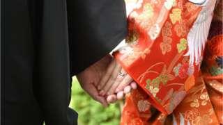 Japonya'da bir evlilik