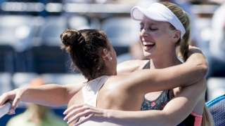 Naomi Broady and Sara Sorribes Tormo