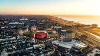 Blackpool Central development CGI