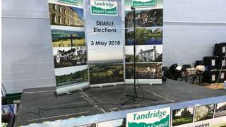 Tandridge District Council election boards