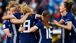Scotland's Women Football Team