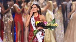 Miss Mexico Andrea Meza na di new Miss Universe 2021