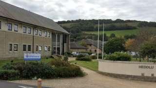 Aberystwyth Police station