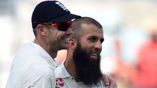 James Anderson and Moeen Ali