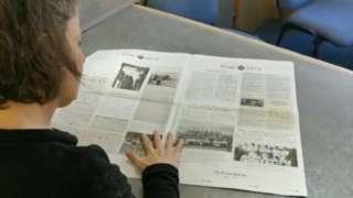 Emily Atherton reading The Keswick Reminder