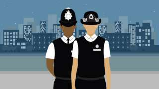 Police Officers illustration