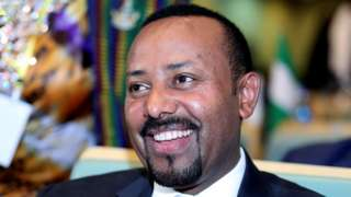 Ethiopian Prime Minister Abiy Ahmed attend di High Level Consultation Meetings of Heads of State and Government on di situation for di Democratic Republic of Congo for di African Union Headquarters in Addis Ababa, Ethiopia, 17 January, 2019.