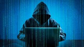 设计图片:黑客用笔记本电脑