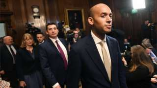 Chuka Umunna and other members of the Independent Group
