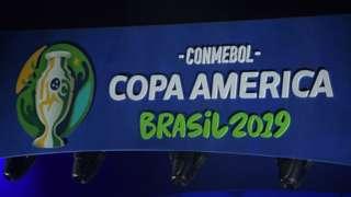 Logo de la Copa América.