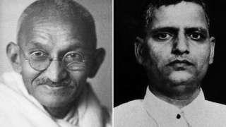 महात्मा गांधी आणि गोडसे
