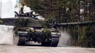 Какдакие танкисты в Латвии