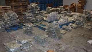 Cannabis haul found in Oswaldtwistle