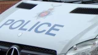 Surrey Police vehicle