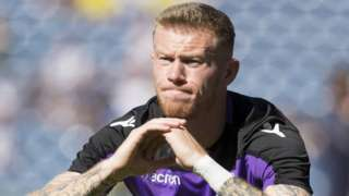 Stoke winger James McClean