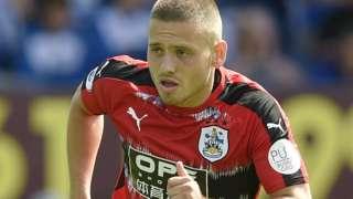 Huddersfield Town midfielder Jack Payne