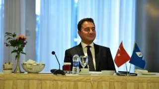 Demokrasi ve Atılım (DEVA) Partisi Genel Başkanı Ali Babacan