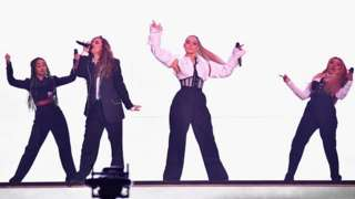 Little Mix at the EMAs