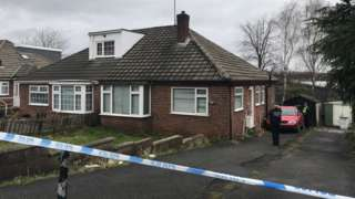 Two houses are being searched by police in Savile Town, Dewsbury