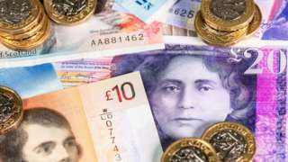 Scottish banknotes and coins